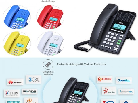 Fanvil X3 Colourful IP Phone